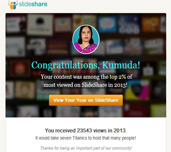 SlideShare data