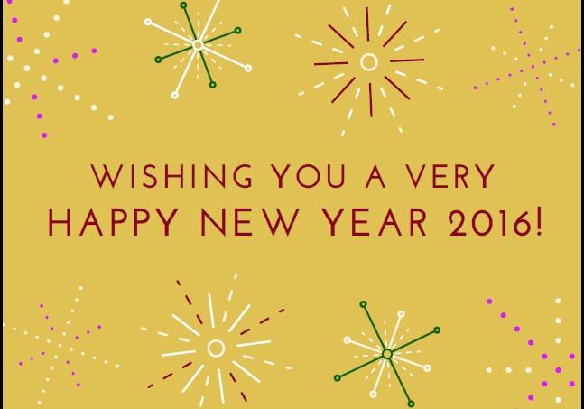 Happy N Y 2016