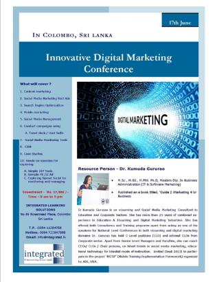 Conf promotion image