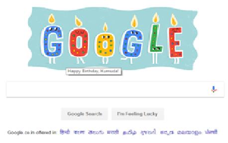Birthday wish 4m Google for 2017